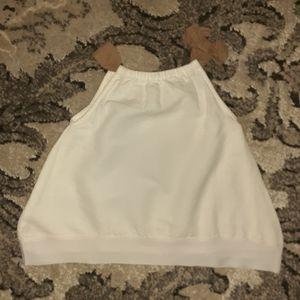 White linen dress by Beba Bean